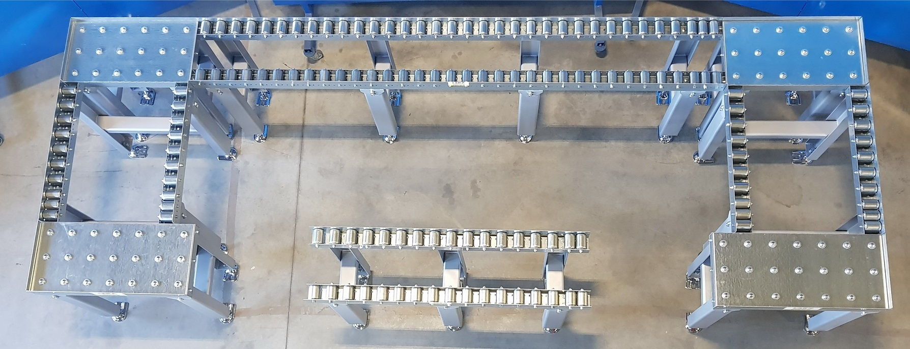 OUR OWN PRODUCTION OF CONVEYOR LINES